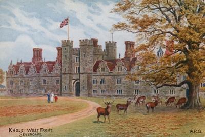 Knole, West Front, Sevenoaks by Alfred Robert Quinton