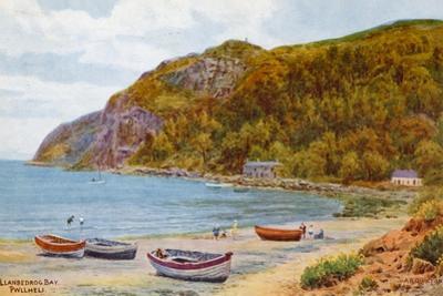 Llanbedrog Bay, Pwllheli by Alfred Robert Quinton