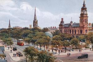 Lord Street, Southport by Alfred Robert Quinton