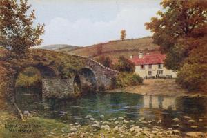 Lorna Doone Farm, Malmsmead by Alfred Robert Quinton