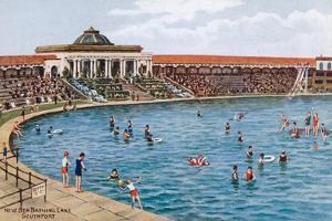 New Sea Bathing Lake, Southport by Alfred Robert Quinton