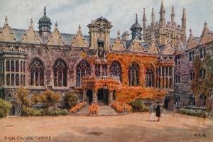 Oriel College, Oxford by Alfred Robert Quinton