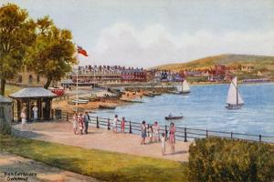 Pier Entrance, Swanage by Alfred Robert Quinton