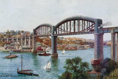 Plymouth, Royal Albert Bridge, Saltash by Alfred Robert Quinton