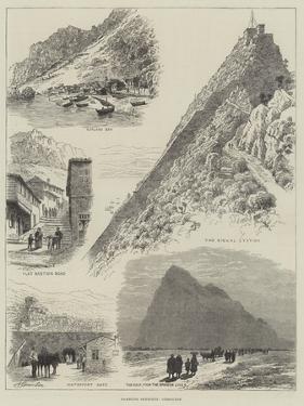 Rambling Sketches, Gibraltar by Alfred Robert Quinton