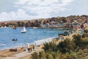 Swanage, Looking S by Alfred Robert Quinton