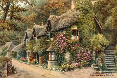 Thatched Cottages, Blackpool Sands, S Devon