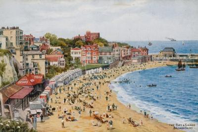 The Bay and Sands, Broadstairs by Alfred Robert Quinton