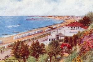 The Bay and Spa Gardens, Felixstowe by Alfred Robert Quinton