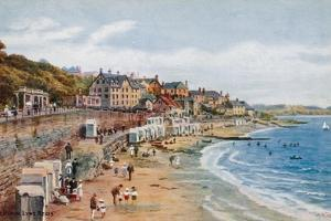 The Beach, Lyme Regis by Alfred Robert Quinton