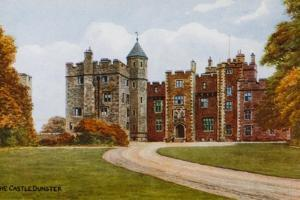 The Castle, Dunster by Alfred Robert Quinton