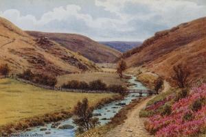 The Doone Glen, Lynton by Alfred Robert Quinton