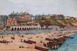 The East Cliff, Bournemouth by Alfred Robert Quinton