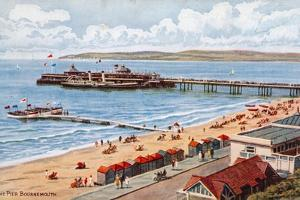 The Pier, Bournemouth by Alfred Robert Quinton