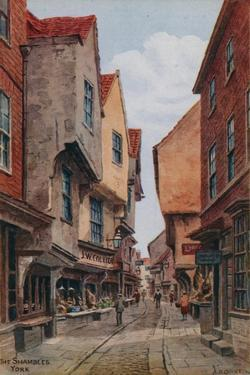 The Shambles, York by Alfred Robert Quinton