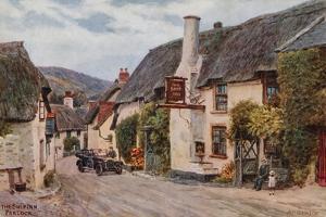 The Ship Inn, Porlock by Alfred Robert Quinton