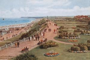 Top of Cliffs and Beach, Gorleston-On-Sea by Alfred Robert Quinton