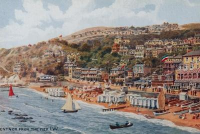 Ventnor from the Pier, Isle of Wight by Alfred Robert Quinton