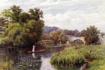 Wallingford Bridge by Alfred Robert Quinton