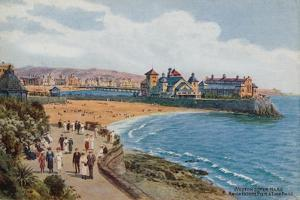Weston-Super-Mare, Knightstone Pier and Two Bays by Alfred Robert Quinton