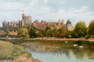 Windsor Castle by Alfred Robert Quinton