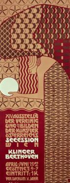 Poster For the 14th Exhibition of Vienna Secession, c.1902 by Alfred Roller
