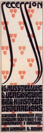 Poster for the Vienna Secession Exhibition, 1903 by Alfred Roller