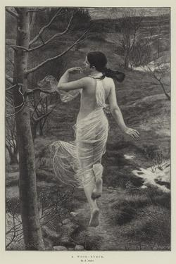 A Wood-Nymph by Alfred Seifert
