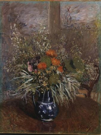 A Bouquet of Flowers, 1875 by Alfred Sisley