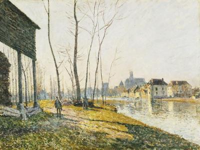 A February Morning in Moret-sur-Loing