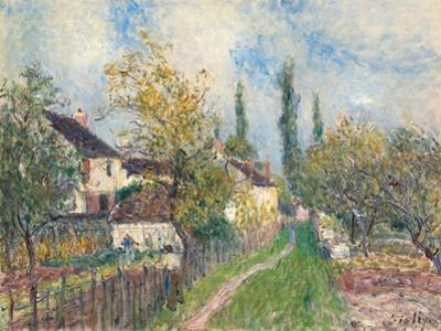 A Path at Les Sablons, 1883 by Alfred Sisley