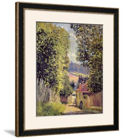 A Road in Louveciennes, 1883 by Alfred Sisley