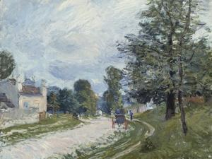 A Turn in the Road, 1873 by Alfred Sisley