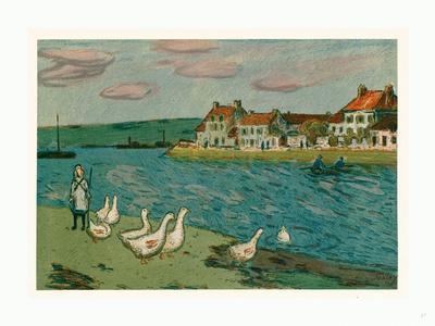 Banks of the River (Les Bords De Riviere), 1897
