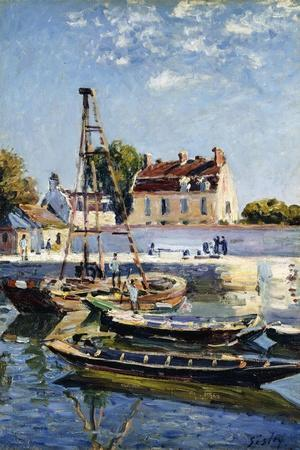 Barges, 1885