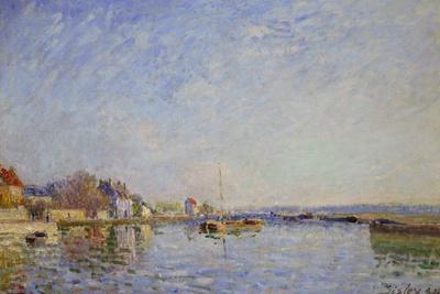 Canal at Loing, 1884