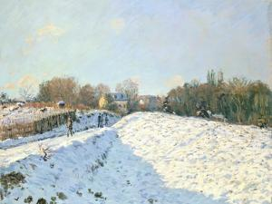 Effect of Snow at Argenteuil, 1874 by Alfred Sisley