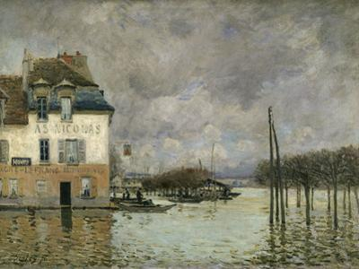 Flood of Port-Marly, c.1876 by Alfred Sisley