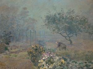 Fog, 1874 by Alfred Sisley