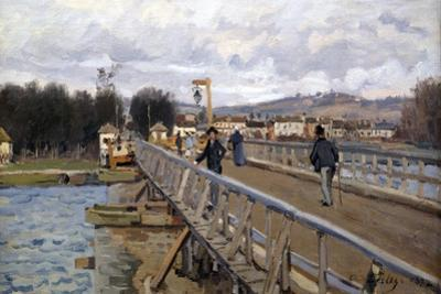 Foot Bridge at Argenteuil, 1872 by Alfred Sisley