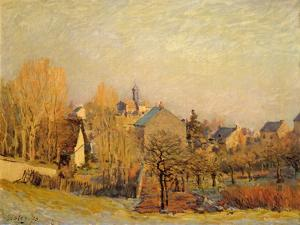 Frosty Morning in Louveciennes, 1873 by Alfred Sisley