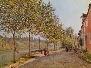 June Morning in Saint-Mammes, 1884 by Alfred Sisley