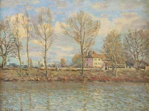 L'Ile De La Grande Jatte, Neuilly-Sur-Seine, 1873 by Alfred Sisley