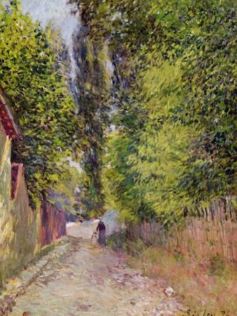 Landscape Near Louveciennes, 1876 by Alfred Sisley