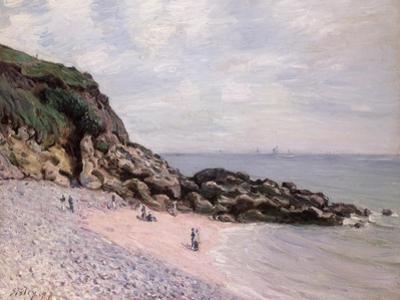 Langland Bay, 1897 by Alfred Sisley