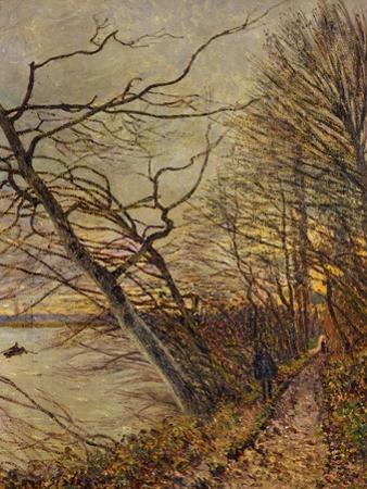 Le Bois Des Roches, Veneux-Nadon, 1880 by Alfred Sisley