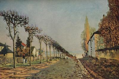 Le chemin de la Machine, 1873, (1929) by Alfred Sisley