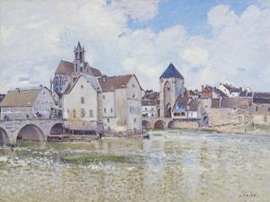 Le Pont De Moret, 1888 by Alfred Sisley