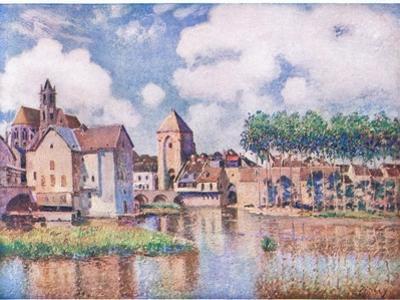 Le Pont De Moret by Alfred Sisley