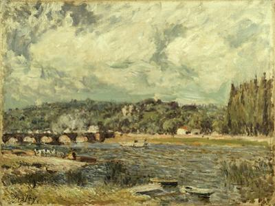 Le Pont De Sevres, 1877 by Alfred Sisley